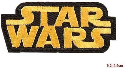 Amarillo Parches bordados de Star Wars diferentes dise/ños