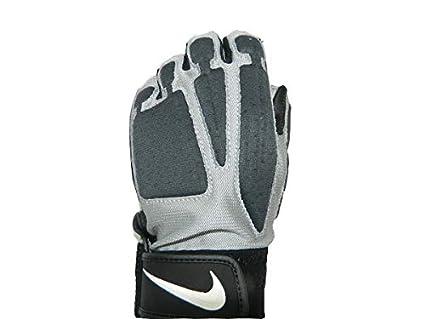 Nike D-Tack IV - Guanti da Calcio Senza Dita, Palmo in Pelle