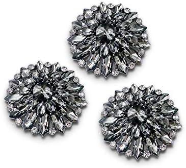 カフリンクス 五ta星のラインストーンのバックルの合金の装飾的なバックルの金属の衣服の付属品の実用的な野生(100PCS) ファ