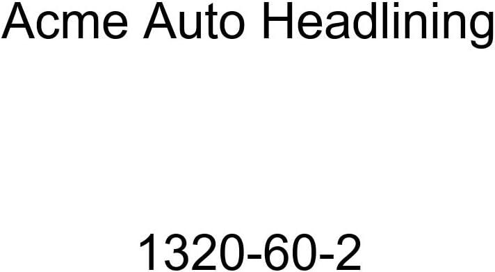 1946-47 Cadillac Series 60 Special Fleetwood 4 Door Sedan 8 Bows Acme Auto Headlining 1320-60-2 Black Replacement Headliner
