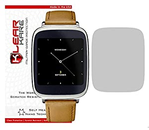 [Two Pack - Smudge Free] - KlearKare Invisible Screen Shield Protector for ASUS Zen Watch Smart Watch | (HD) Clear | Self Healing Nano Technology | Bubble Free