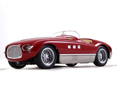 - Ferrari 340 MM Spider Red Color 1:43 Scale Diecast Model Sports Car 1952 Year