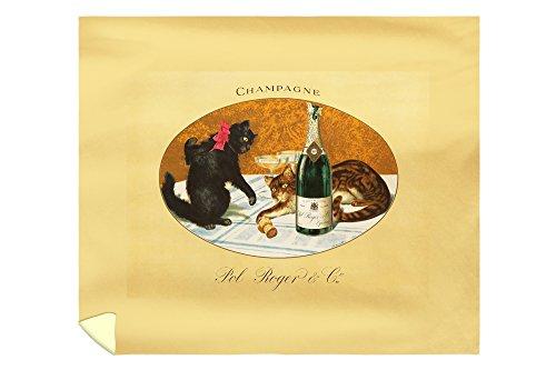 champagne-pol-roger-vintage-poster-c-1921-88x104-king-microfiber-duvet-cover