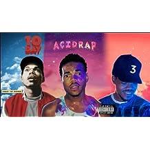 "Divine Posters's Chance The Rapper Singer "" ACIDRAP 10 DAY COLORING BOOK "" MIXTAPE 12 x 18 Inch Multicolour Famous Poster"