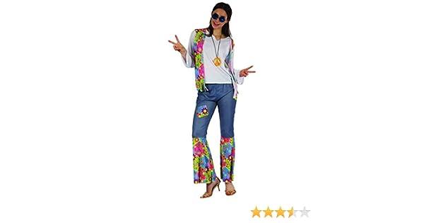 Generique - Disfraz Hippie Mujer Love M: Amazon.es: Juguetes y juegos
