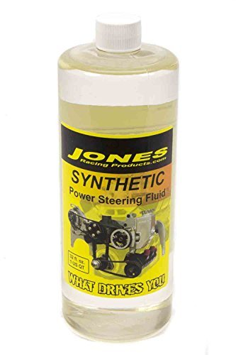 Jones Racing Products PS-8009-32S Synthetic Power Steering Fluid, 32 oz. by Jones Racing Products