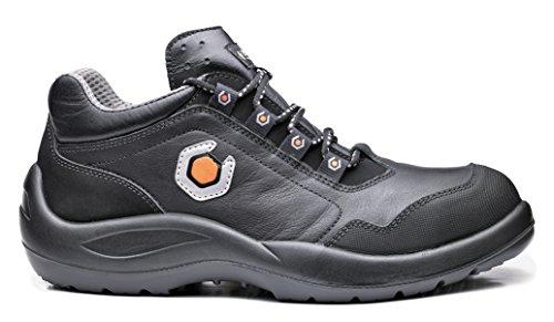 Base Protection - Chaussures De Sécurité En Cuir Fleur Hydrofuge De Haute Qualité. Avec Embout En Acier, Lame Anti-perforation. Catégorie S3 Src. - Taille: 47