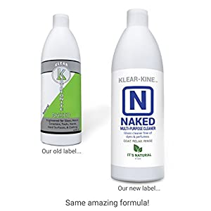 KLEAR-KINE Naked Glass Cleaner | Clay Based Formula | 420 & 710 Remover | 470ml Bottle | 2 Pack