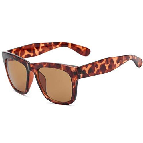 Aviador Retro de Running sol Vogue conducción Cuadro Nuevas Hombres Tendencia para UV polarizadas D de de Gafas Grande SYqxEE