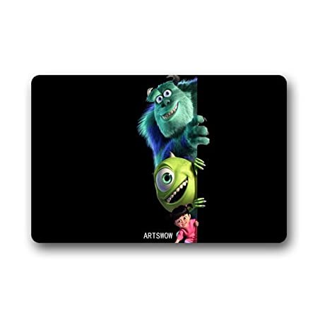 Artswow Custom Front Door Mat Monsters Inc Doormat Cover Rug Outdoor