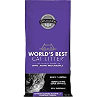 World's Best Cat Litter, Clumping Litter Formula for Multiple Cats, Lavender Scent, 28-Pounds