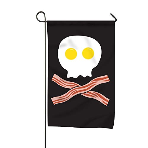 Lucy Curme Breakfast Garden Flag | Double-Sided, Polyester, Yard Flag to Brighten Up Your Home 12