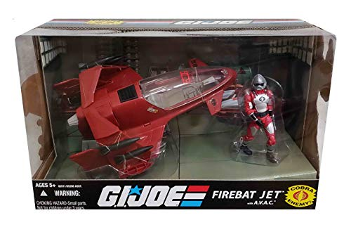 (Hasbro G.I. Joe 25th Anniversary Vehicle FireBat Jet with A.V.A.C.)