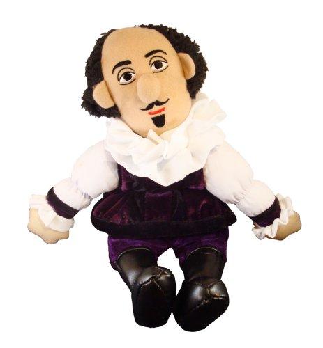 William Shakespeare - Little Thinker - Plush Doll