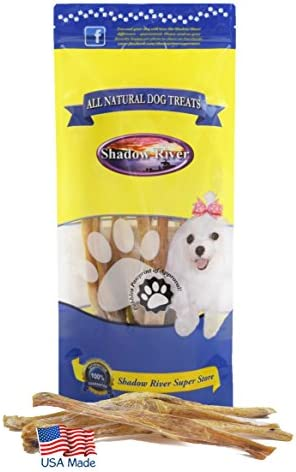 Shadow River 10 Pack Regular 7-11 All Natural Beef Achilles Tendons Dog Chews