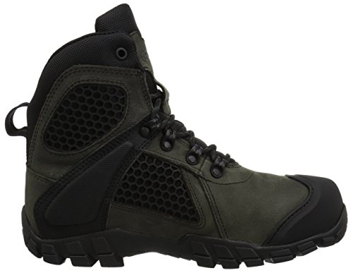 Bates Mens Shock FX Leather Boots Dark Cloud
