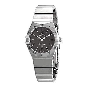 Omega Constellation Manhattan Quartz - Reloj de Pulsera para Mujer, Color Gris 12