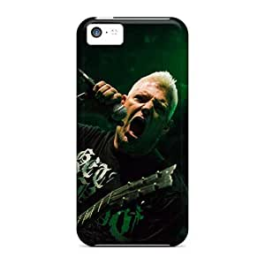 Iphone 5c THW3811vBNf Custom Vivid Biohazard Band Skin Scratch Protection Cell-phone Hard Cover -TimeaJoyce