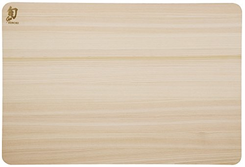 Shun DM0816 Hinoki Cutting Board, Medium