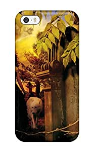 Durable Protector Case Cover With Gothic Art Hot Design For Iphone 5/5s