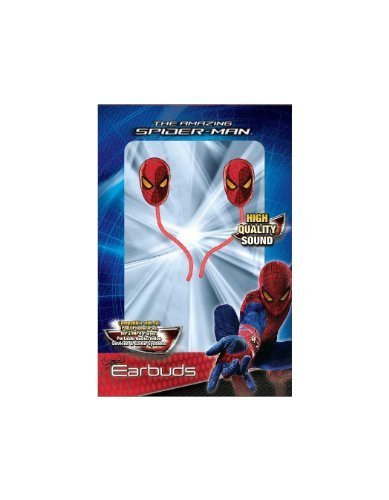 Marvel Spiderman Molded Earbuds 11345 product image