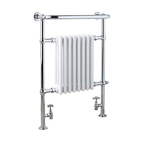 SOL-AIRE Ramsey - Radiador eléctrico con soporte para secar toallas, 673 x 965 mm: Amazon.es: Electrónica