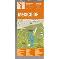"Mexico City ""Mexico DF"" Street Map by De Dios (Spanish and English Edition)"