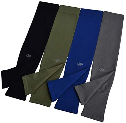Protection Cooling Sleeves 4 Pairs Cycling Outdoor product image