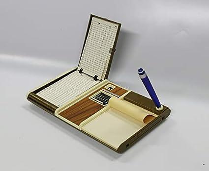 4 x Multiidex, agenda de mesa, con calendario perpetuo y bloc de ...