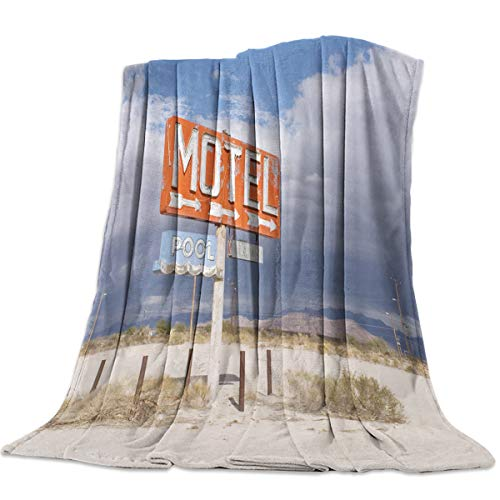 Used, T&H Home Fuzzy Weighted Blanket Motel Pool America for sale  Delivered anywhere in Canada