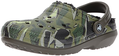 Crocs Women's Classic Lined Graphic Clog Mule