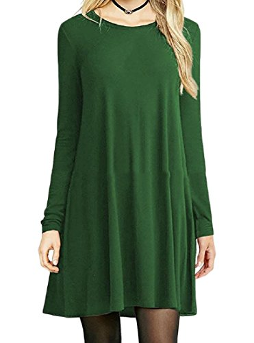 Coolred Dress Color Party Skinny Club Mini Sleeve Womens Green Loose Long Mulit rCcZ1wrxBq