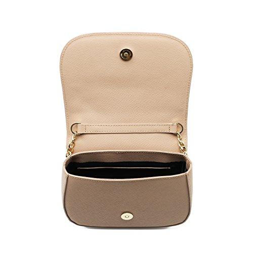 MANSUVIL donne e 'cuoio unica borsa, incline borsa, lembo borsa, borsa, cuoio