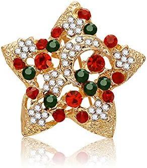 ブローチピン 雪の結晶 輝くキュービックジルコニア エレガントな 胸元 胸飾り レディース ブローチ コサージュ 結婚式 クリスマス ブローチ 卒業式 入学式