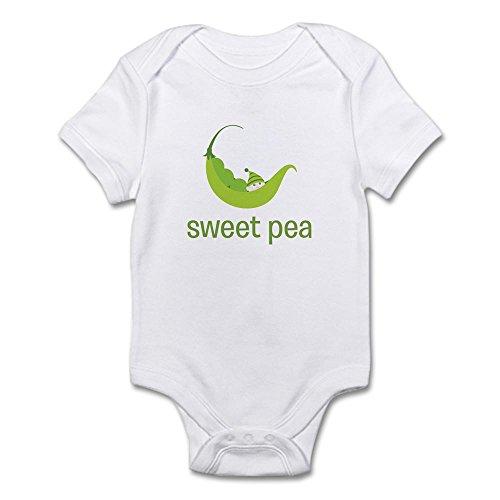 Sweet Pea Cotton Onesie - CafePress - Sweet Pea Infant Bodysuit - Cute Infant Bodysuit Baby Romper