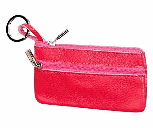 Geldbörsen, Rcool Frauen Leder wichtigen Fall Brieftasche Kupplung Münze Wallet Card Tasche (Hot Pink)