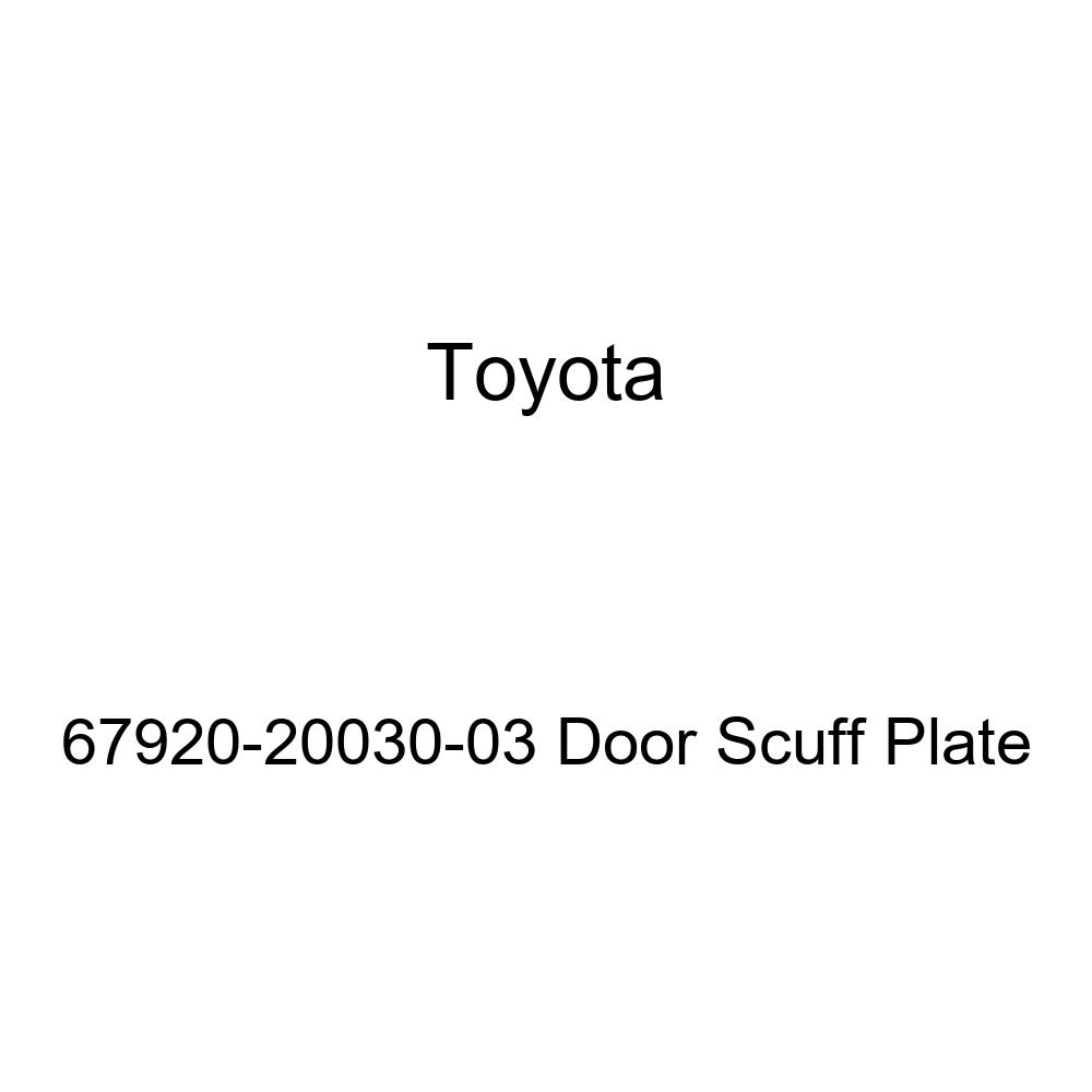 TOYOTA Genuine 67920-20030-03 Door Scuff Plate
