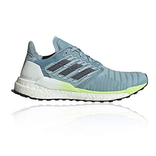 (adidas Solar Boost Women's Running Shoes - SS19-8.5 - Blue)