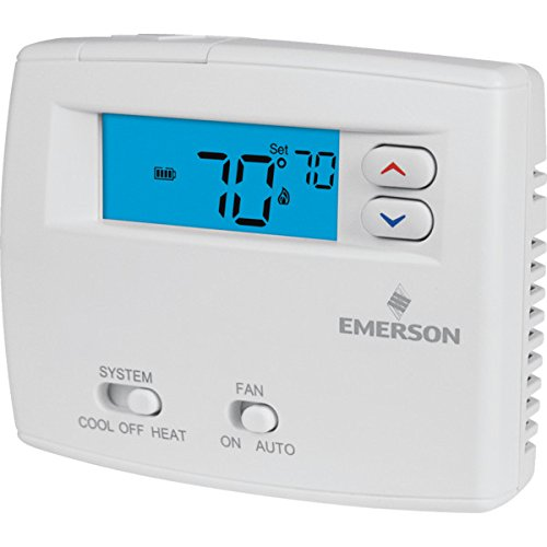 Air Conditioning Thermostats (Emerson 24 Volt Digital Heat/Cool Thermostat - HVAC - Air Conditioning Refrigeration)