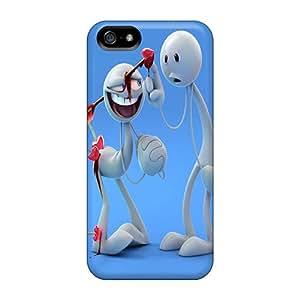 Iphone 5/5s Case Cover Skin : Premium High Quality Love Headshot Case