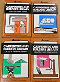 img - for AUDEL CARPENTERS AND BUILDERS LIBRARY, complete 4 volume set book / textbook / text book