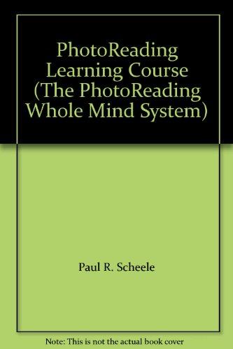 PhotoReading Learning Course (The PhotoReading Whole Mind System)