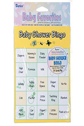 Darice Baby Shower Bingo Game, 24