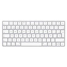 Apple Magic Keyboard (Wireless, Rechargable) (Spanish) - Silver