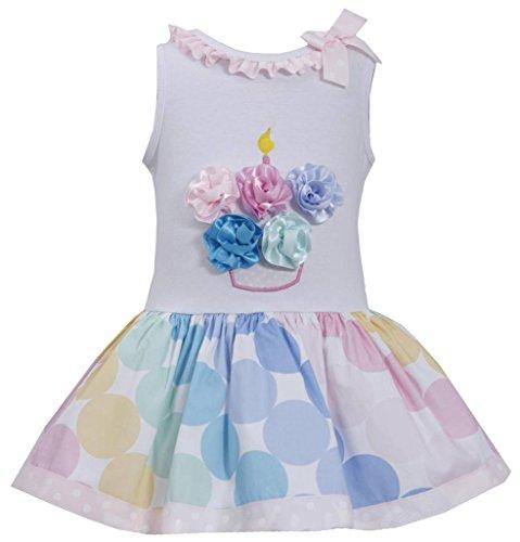 Bonnie Jean Birthday Cupcake Shorts Set, 24 Months ()