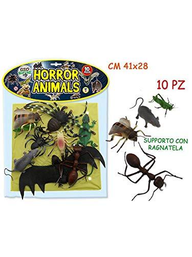 Teorema Giocattoli Théorème Jouets–Horror Animals avec Poster, Multicolore, 3.te71000 Teorema S.R.L.