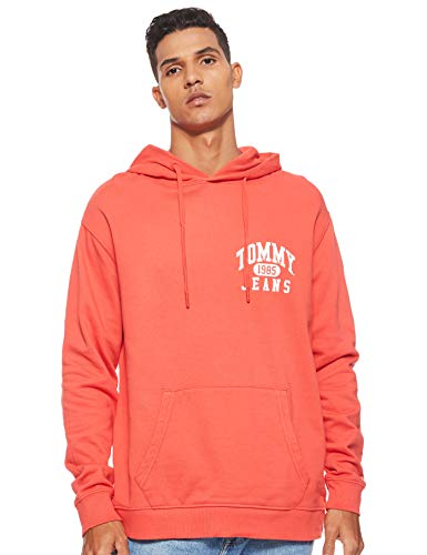 Tommy Jeans Herren Pullover TJM Graphic Washed Hoodie