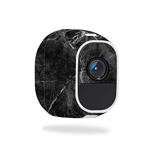 MightySkins Skin for Netgear Arlo Pro 2 - Black Marble | Protective, Durable, and Unique Vinyl Decal wrap Cover | Easy to Apply, Remove, and Change Styles | Made in The USA