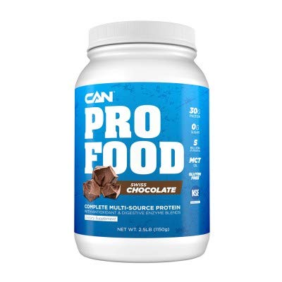New – PRO Food Chocolate 30g of 3 Different proteins with Digestive enzymes, probiotics, and MCT Oils. Gluten Free and Naturally Flavored