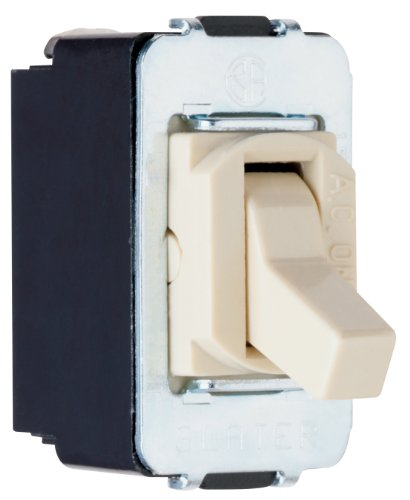 Pass & Seymour 3 Way - Legrand - Pass & Seymour ACD3ICC8 Despard Three-Way Toggle Switch, 15-Amp 120-volt/277-volt, Ivory